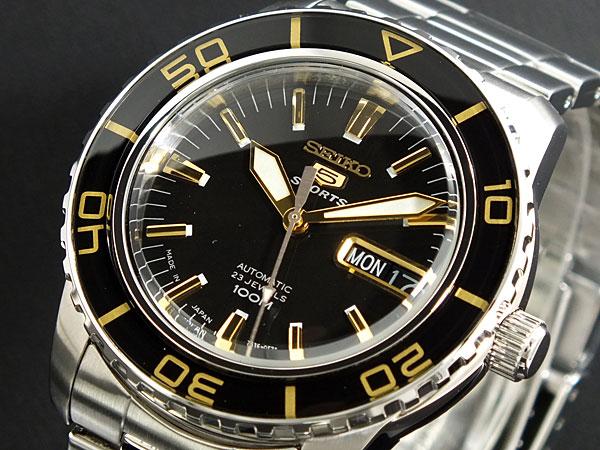 (~4/30)【キャッシュレス5%】セイコー SEIKO セイコー5 スポーツ 5 SPORTS 自動巻き 腕時計 SNZH57J1 メンズ