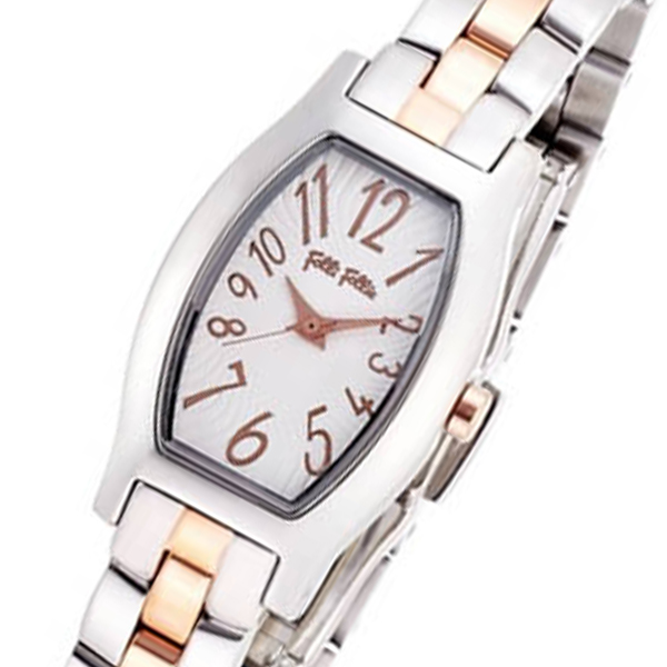 (~8 WF8T026BPZ/31) FOLLI フォリフォリ FOLLI FOLLIE デビュタント デビュタント クオーツ 腕時計 WF8T026BPZ シルバー レディース, 旭町:8785c199 --- officewill.xsrv.jp