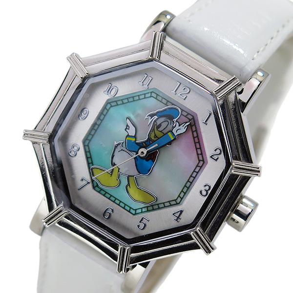 【150時間限定! ポイント最大43倍!スーパーSALE】 【今月特価】(~9/30) ディズニーウオッチ Disney Watch 腕時計 1507-DN ドナルドダック レディース