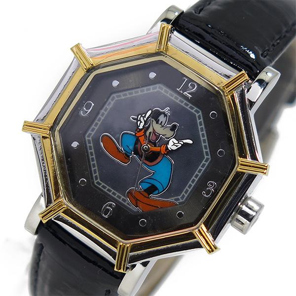 (~4/30)【キャッシュレス5%】ディズニーウオッチ Disney Watch 腕時計 1507-GF-B グーフィー レディース