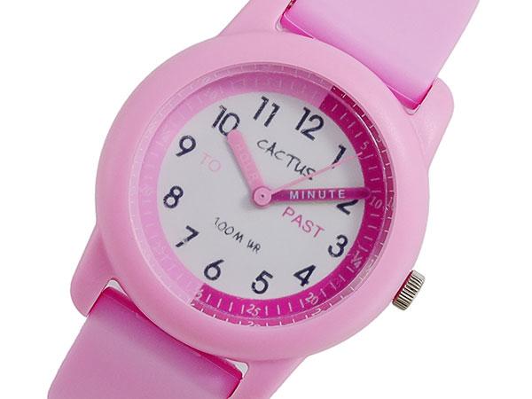 【お買い物マラソンxポイントアップ】(~4/26 01:59) 【ポイント2倍】(~4/30 23:59) カクタス CACTUS クォーツ 腕時計 CAC-69-M05 ピンク キッズ