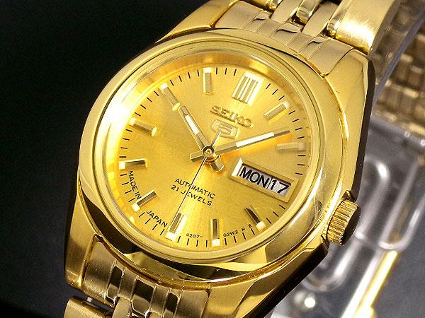 (~4/30)【キャッシュレス5%】セイコー SEIKO セイコー5 SEIKO 5 自動巻き 腕時計 SYMA38J1 レディース