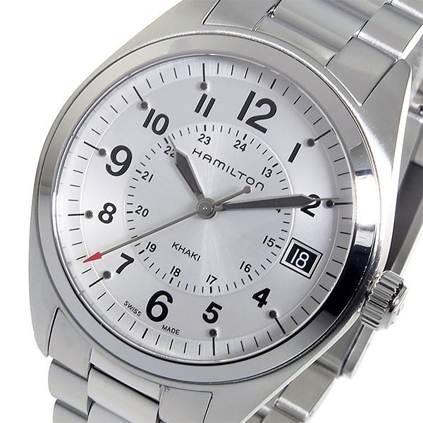 (~8/31) ハミルトン ハミルトン 腕時計 HAMILTON カーキフィールド クオーツ 腕時計 H68551153 シルバー メンズ メンズ【代引き不可】, ジャペックス:60033c4f --- officewill.xsrv.jp