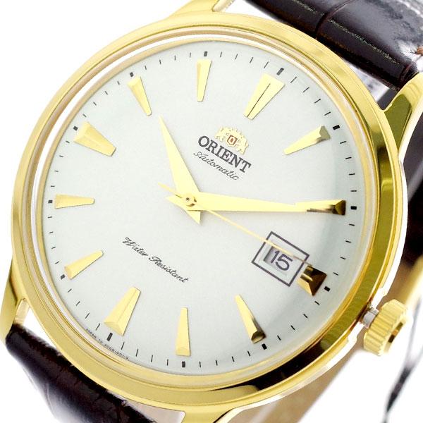 【スーパーSALE】(~9/11 01:59)(~9/30)オリエント ORIENT 腕時計 SAC00003W0 自動巻き ホワイト ダークブラウン メンズ
