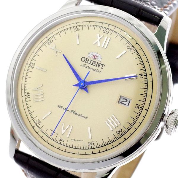 (~8/31) オリエント ORIENT メンズ 腕時計 オリエント SAC00009N0 FAC00009N0 自動巻き クリーム (~8/31) ダークブラウン メンズ, 岡山児島ジーンズ Star-Foot:26b1d5bf --- officewill.xsrv.jp