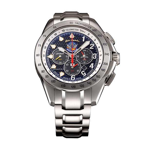 【スーパーSALE】(~9/11 01:59)(?9/30) ケンテックス KENTEX 腕時計 S720M-04 トライフォース TRIFORCE クォーツ ネイビー シルバー 国内正規品 メンズ