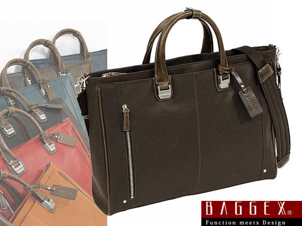 (~4/30 23:59) バジェックス BAGGEX TREASURE ビジネスバッグ 23-5534-55 ダークブラウン メンズ【ラッピング不可】