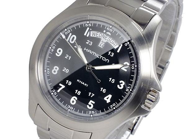 (~8/31) ハミルトン HAMILTON クオーツ カーキキング KHAKI カーキキング KING (~8/31) クオーツ 腕時計 H64451133 メンズ, 日本最級:2e2f9f87 --- officewill.xsrv.jp