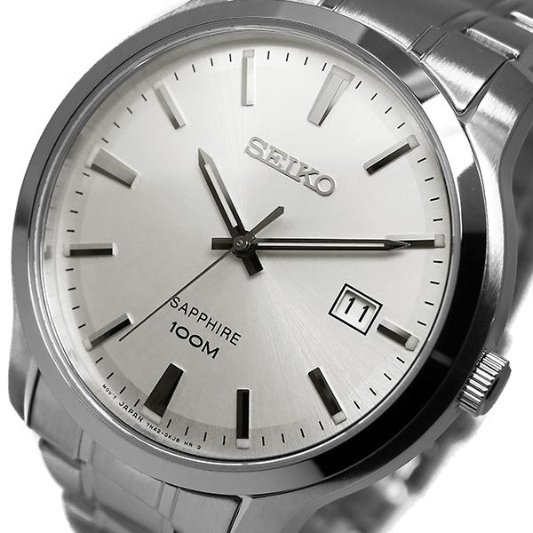 (~4/30)【キャッシュレス5%】セイコー SEIKO クオーツ 腕時計 SGEH39P1 シルバー メンズ