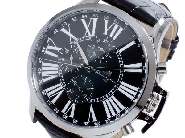 (~8/31) サルバトーレマーラ SALVATORE SALVATORE MARRA 腕時計 クオーツ 腕時計 クオーツ SM14123-SSBK メンズ, 埴科郡:f263333d --- officewill.xsrv.jp