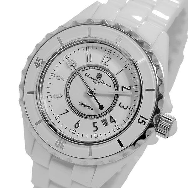 (~8/31) サルバトーレマーラ SALVATORE MARRA クオーツ 腕時計 腕時計 (~8/31) SM15151-WHA MARRA ホワイト/シルバー レディース, サメガワムラ:2ca062ea --- officewill.xsrv.jp