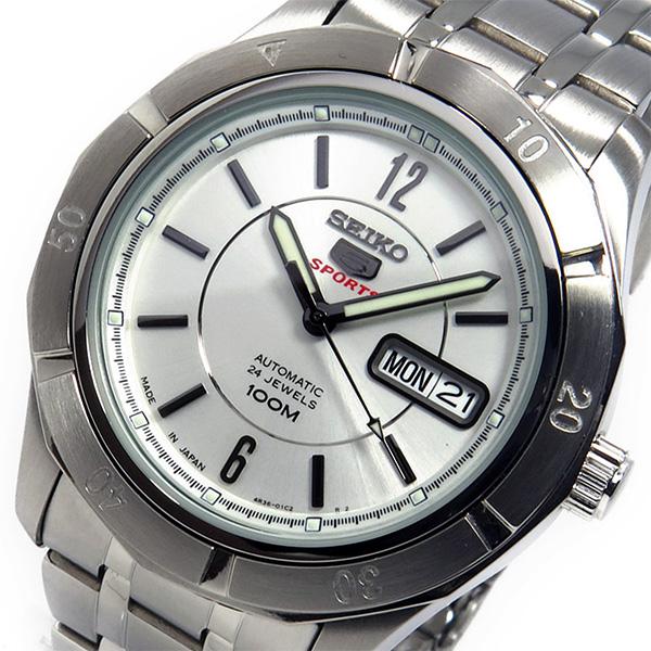 (~8/31) セイコー SRP295J1 SEIKO 自動巻き 腕時計 SRP295J1 (~8/31) シルバー セイコー メンズ, 又一庵:5886605e --- officewill.xsrv.jp