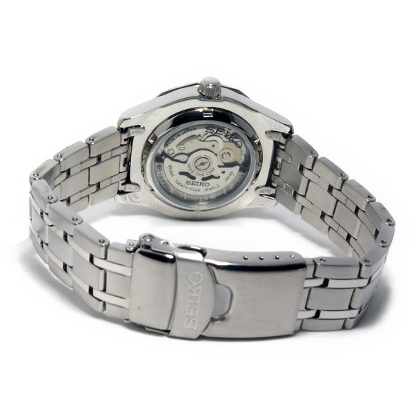 【期間限定】【エントリーでポイント3倍×ポイントアップ2倍】(7/21 10:00~7/24 09:59) セイコー SEIKO 自動巻き 腕時計 SRP295J1 シルバー メンズ