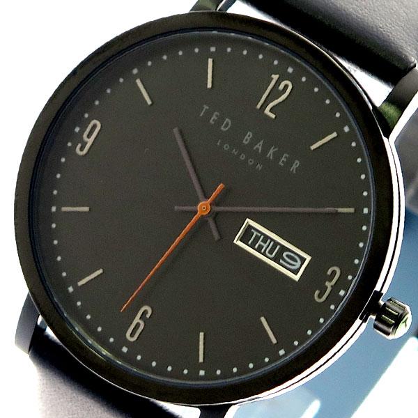 【スーパーSALE】(~9/11 01:59)(~9/30)テッドベーカー TED BAKER 腕時計 TE15196012 クォーツ ブラック メンズ