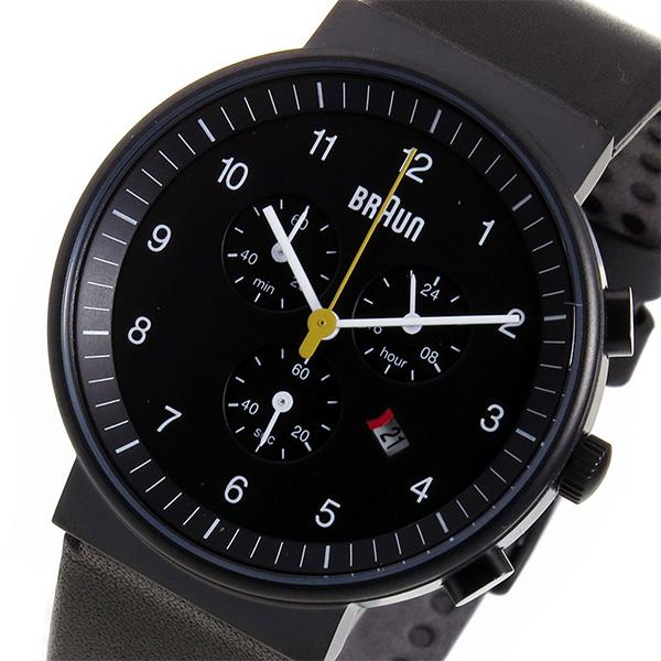 (~8/31) ブラウン ブラウン BRAUN クロノグラフ クオーツ クオーツ 腕時計 BN0035BKBKG ブラック 腕時計 メンズ, one plate LuLu:788fb689 --- officewill.xsrv.jp