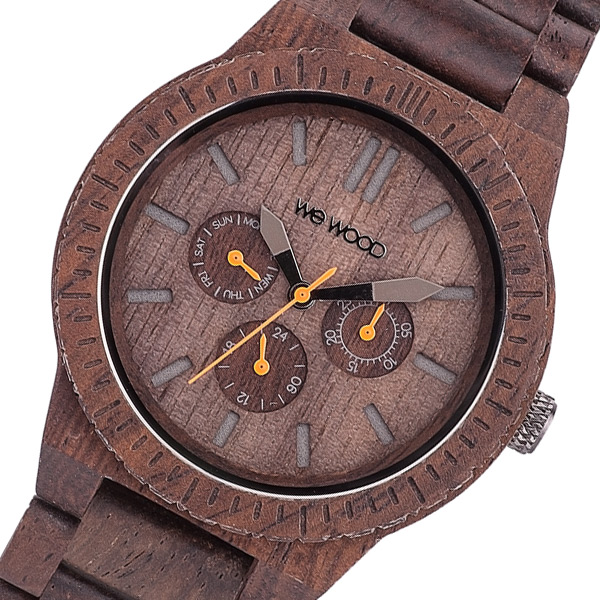 (~8/31) 国内正規 ウィーウッド WEWOOD WEWOOD 木製 腕時計 KAPPA-CHOCOLATE チョコ メンズ 国内正規 メンズ, コスギマチ:9ebb5de3 --- officewill.xsrv.jp