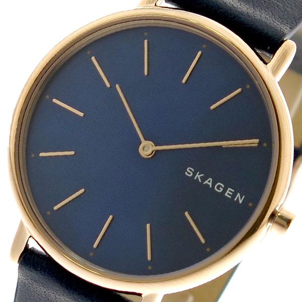【スーパーSALE】(~9/11 01:59)(~9/30)スカーゲン SKAGEN 腕時計 SKW2731 クォーツ ネイビー ブラック レディース