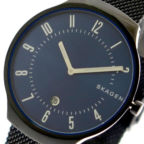 (~8/31) ネイビー スカーゲン SKAGEN 腕時計 SKW6461 (~8/31) クォーツ ネイビー ブラック SKW6461 ユニセックス, タイヤプライス館:7d60f7be --- officewill.xsrv.jp