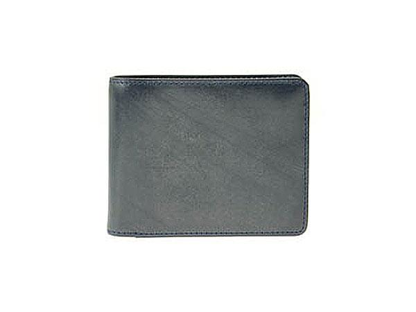 (~4/30 23:59) ゾンネ SONNE 二つ折り 短財布 SOW002A-NV-RD ネイビー×レッド メンズ