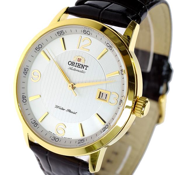 (~8/31) オリエント ブラック ORIENT 腕時計 自動巻き FER27004W0 ORIENT 自動巻き シルバー ブラック メンズ, 中条村:028c3fd8 --- officewill.xsrv.jp