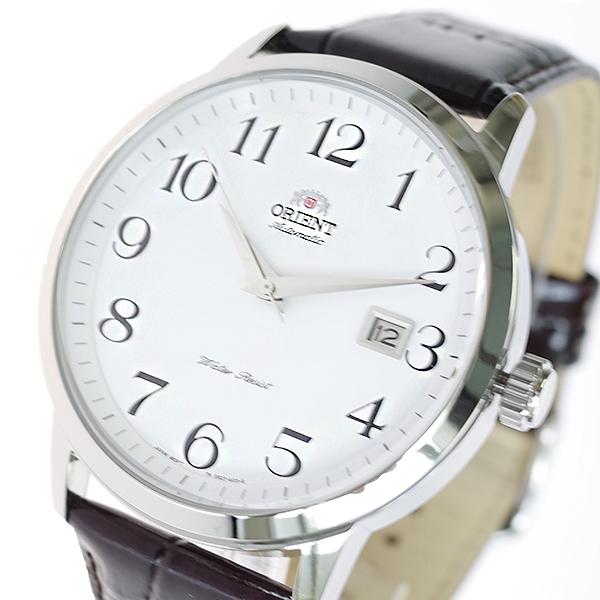 (~8/31) オリエント オリエント ORIENT (~8/31) 腕時計 FER27008W0 自動巻き ホワイト ブラック ブラック メンズ, ミズサワシ:5a29f7cf --- officewill.xsrv.jp