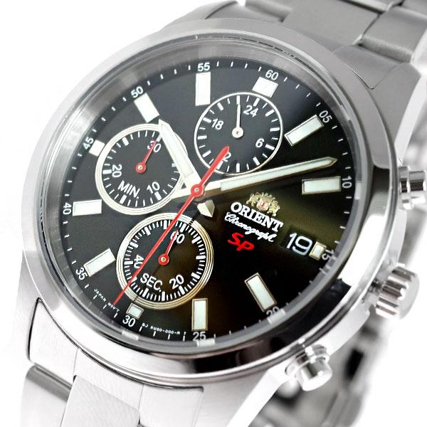 (~8/31) オリエント クォーツ ORIENT 腕時計 FKU00002B0 (~8/31) クォーツ シルバー ブラック シルバー メンズ, おつけもの 慶 kei:5168c217 --- officewill.xsrv.jp