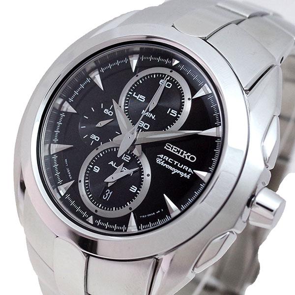 (~8/31) セイコー SEIKO 腕時計 SNAC17P1 アークチュラ 腕時計 ARCTURA ARCTURA クォーツ ブラック ブラック シルバー メンズ, 雑貨屋ohisama:007e36bc --- officewill.xsrv.jp