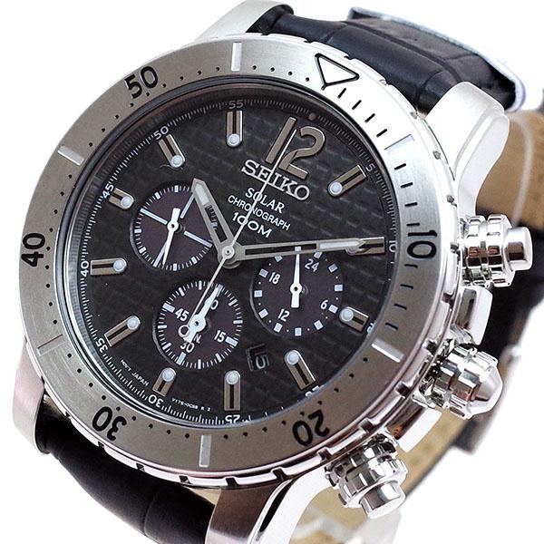 (~8 クォーツ/31) セイコー SEIKO (~8/31) 腕時計 SSC223P2 クォーツ ブラック メンズ メンズ, サルグン:2fd961b9 --- officewill.xsrv.jp