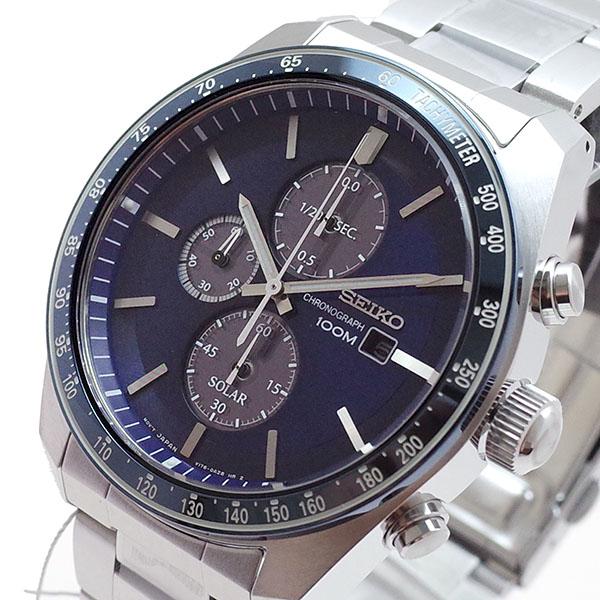 (~8/31) セイコー SEIKO 腕時計 SSC719P1 クォーツ クォーツ SEIKO セイコー ネイビー シルバー メンズ, 御朱印帳専門店HollyHock:1edf2f7a --- officewill.xsrv.jp
