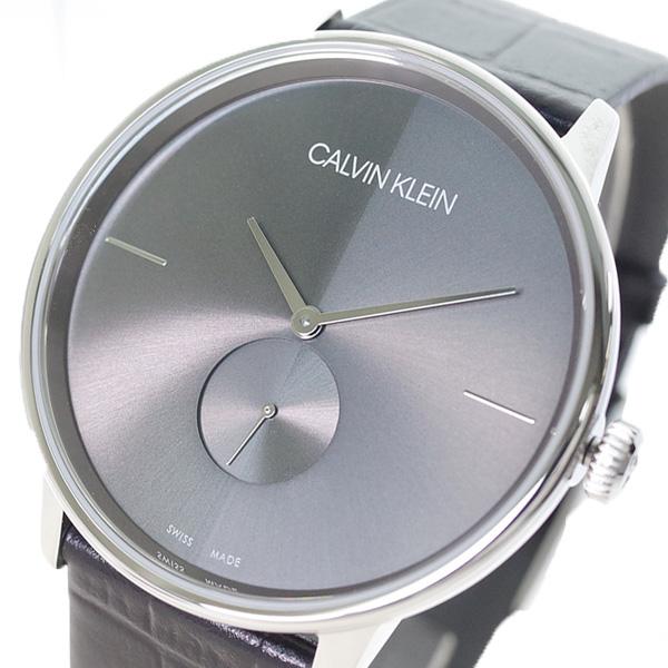 【スーパーSALE】(~9/11 01:59)(~9/30)カルバンクライン CALVIN KLEIN 腕時計 K2Y211C3 ACCENT アクセント クォーツ ガンメタル ブラック メンズ