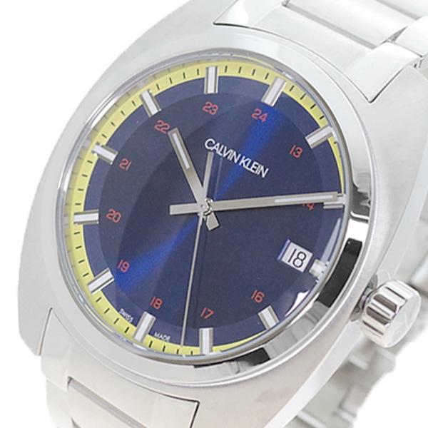 (~4/30)【キャッシュレス5%】カルバンクライン CALVIN KLEIN 腕時計 K8W3114N ACHIEVE アチーブ クォーツ ネイビー シルバー メンズ