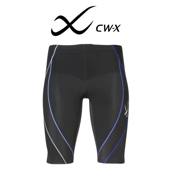 【25%OFF】ワコール CW-X スポーツタイツ ジェネレーターモデル ハーフ スポーツ用タイツ メンズ HZO635