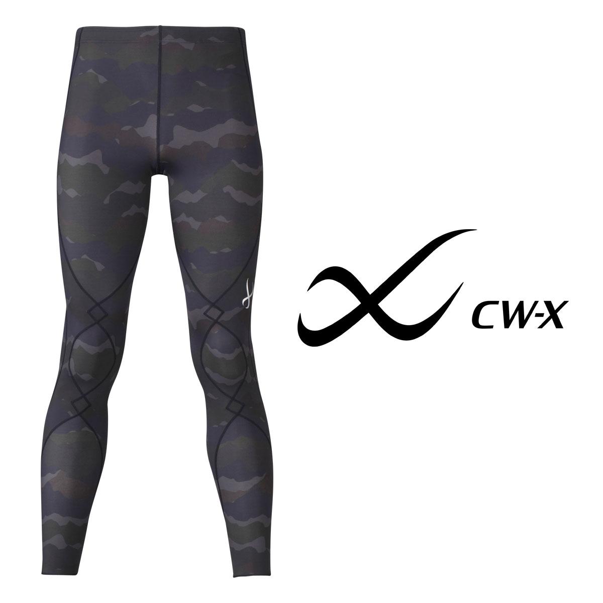 【25%OFF】ワコール CW-X スポーツタイツ スピードモデル ロング メンズ 全1色 M/L HXO429