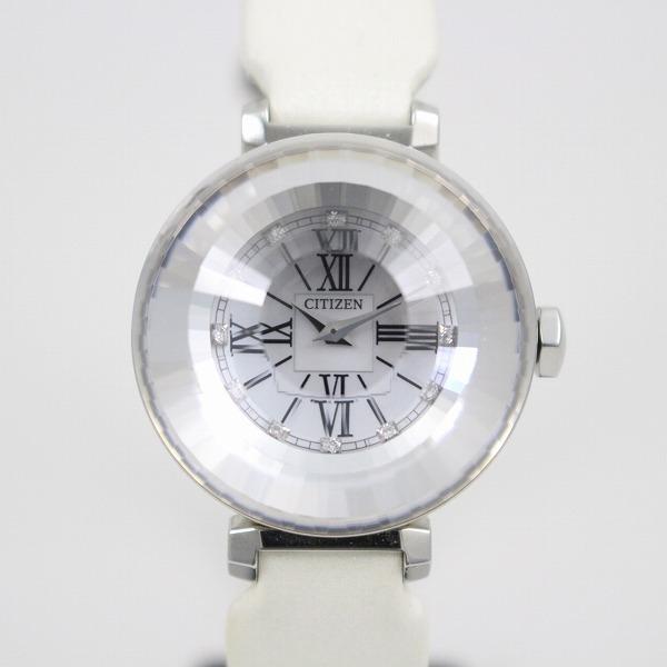 送料無料 中古 希少品 シチズン エクシード 交換無料 マニフィーク レディースウォッチ コレクションサフィール 限定価格セール いおき質店 腕時計 EAW75-2891 エコドライブ