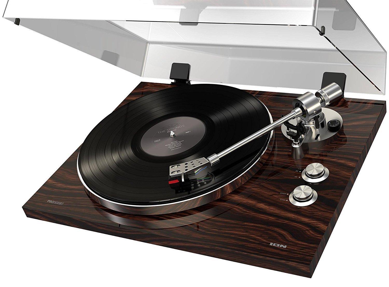 ION Audio プレミアム・ベルトドライブ式 レコードプレーヤー Bluetooth 対応 Pro500BT