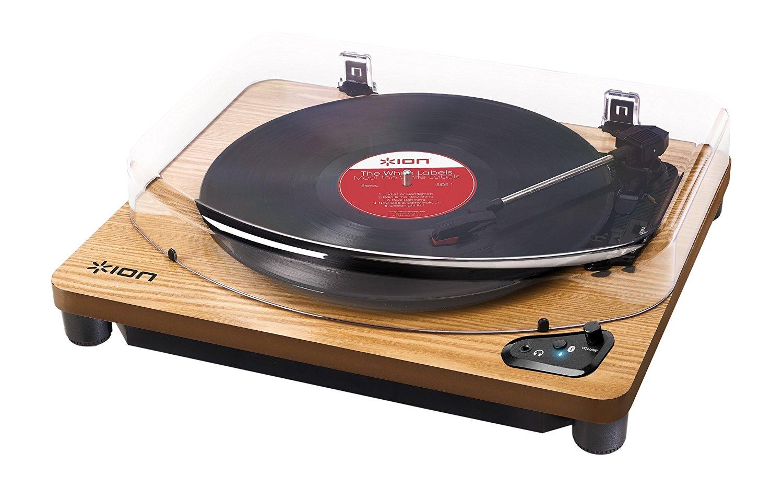【公式 / 送料無料】ION Audio レコードプレーヤー Bluetooth対応 USB端子 Air LP WD