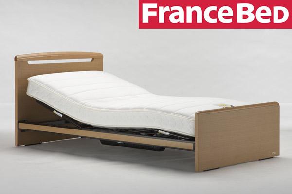 フランスベッド リクライニングベッド 電動ベッド+マットレスセット プレオックスPO-F3 1モーター+マイクロRX-Vマットレス シングル シングル シングルベッド ハイ フランスベット(代引不可)