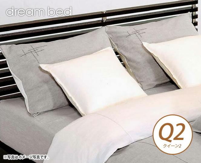 ドリームベッド 掛布団カバー クイーン2 ZIM-P・ZIM-T ジンバブエ パス/ジンバブエ・タック コンフォーターケース Q2サイズ ドリームベッド dreambed