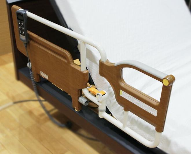 パラマウントベッド スイングアーム介助バー オプション paramountbed 介護用品 介助アーム 介護ベッド用 高齢者 パラマウントベッド専用 補助 柵 安全バー