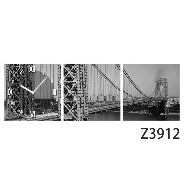 壁掛け時計 日本初!300種類以上のデザインから選ぶパネルクロック◆3枚のアートパネルの壁掛け時計◆hOur Design Z3911【イラスト】【アート】【代引不可】【送料無料】