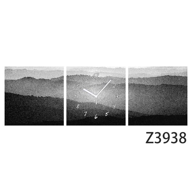 壁掛け時計 日本初!300種類以上のデザインから選ぶパネルクロック◆3枚のアートパネルの壁掛け時計◆hOur Design Z3938【風景】【アート】【イラスト】【代引不可】【送料無料】