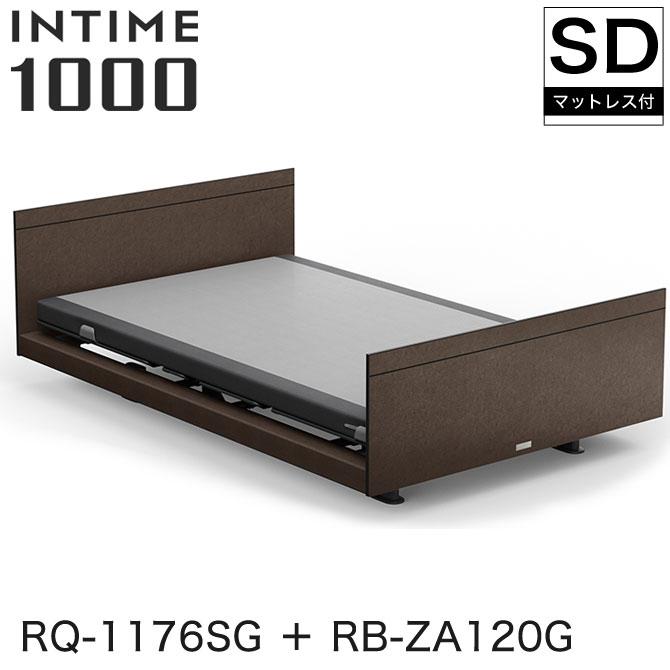 パラマウントベッド 電動ベッド インタイム1000 電動ベッド INTIME1000 マットレス付 セミダブル 1+1モーター マットレス付 ヨーロピアン(グレーアブストラクト) スクエア グレーアブストラクト グレイクス INTIME1000 RQ-1176SG + RB-ZA120G, ノミグン:48f5ff6d --- novoinst.ro