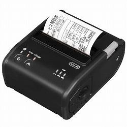 レシートプリンター/モバイルモデル/オートカッター搭載/80mm/Bluetooth+USB/電源同梱/ブラック セイコーエプソン TMP80B753