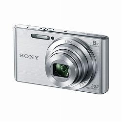 デジタルスチルカメラ Cyber-shot W830 (2050万画素CCD/光学x8) シルバー ソニー DSC-W830