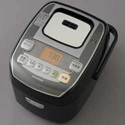 米屋の旨み 銘柄炊き圧力IHジャー炊飯器 3合 アイリスオーヤマ RC-PA30-B