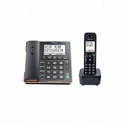 デジタルコードレス留守番電話機 子機1台タイプブラック パイオニア TF-FA75W(B)