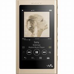 ウォークマン Aシリーズ 16GB ペールゴールド(Bluetoothヘッドホン同梱) ソニー NW-A55WI/N