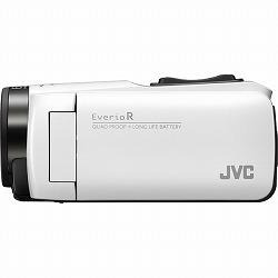 32GBハイビジョンメモリームービー(シャインホワイト) JVCケンウッド GZ-R480-W