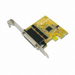 Sunix 4 Port RS-232 PCI E Serial Board アスク SER6456A