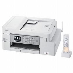 A4インクジェット複合機/FAX/ADF/デジタル子機1台/有線・無線LAN/多目的トレイ/両面印刷 ブラザー工業 MFC-J1605DN